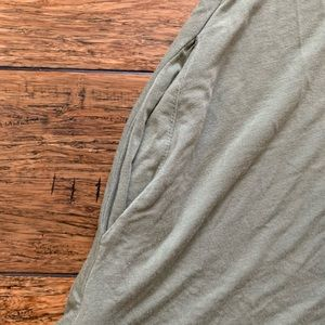 New York & Company Dresses - Olive Green Sleeveless Dress with Pockets